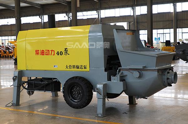 40大骨料输送泵(柴油动力)